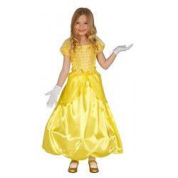 Déguisements, Déguisement princesse jaune fille 7-9 ans, 83202, 27,90€