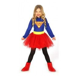 Déguisement super girl fille 3-4 ans Déguisements 83224