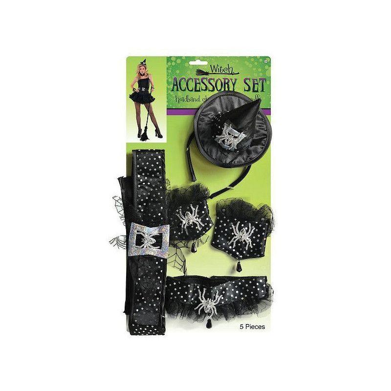 Kit 5 accessoires sorcière Accessoires de fête 840877-55