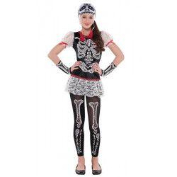Déguisement squelette Dia de los Muertos fille 12-14 ans Déguisements 841348-55