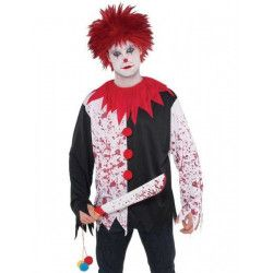 Déguisement tee-shirt clown assassin homme taille unique Déguisements 841631-55