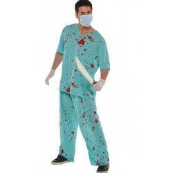 Déguisement infirmier zombie homme taille M-L Déguisements 841778-55