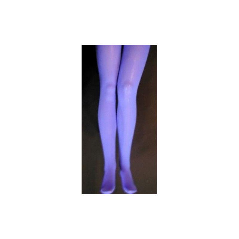 Collants opaque bleu adulte taille S-M Accessoires de fête 842507306