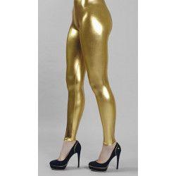 Leggings brillants dorés 36/38 Accessoires de fête 8426061304