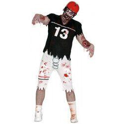Déguisement joueur de rugby zombie adulte taille L Déguisements 84298