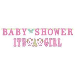 Guirlandes bienvenue pour une petite bébé fille  013051535322