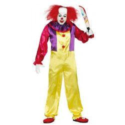 Déguisement clown assassin homme taille L Déguisements 84317