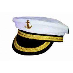 Accessoires de fête, Casquette de capitaine adulte, 84321107, 4,90€
