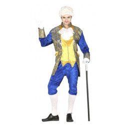 Déguisement marquis ou comte bleu homme taille L Déguisements 84334