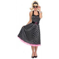 Déguisement robe twist rock'n roll année 50 femme taille S Déguisements 843494