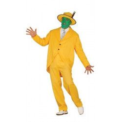 Déguisement gangster jaune homme taille L Déguisements 84350