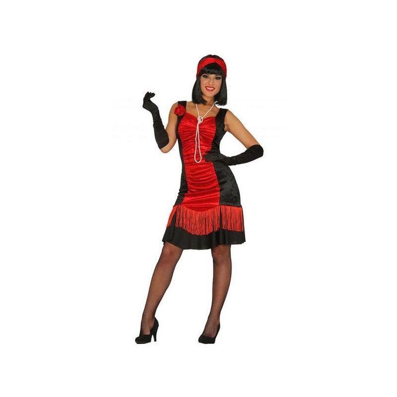 Déguisements, Déguisement charleston rouge femme taille M, 84366, 19,90€