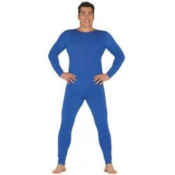 Déguisements, Justaucorps bleu homme taille unique L, 84373, 20,90€