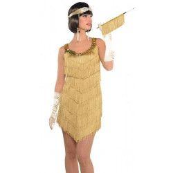 Déguisement charleston champagne femme taille M-L Déguisements 843950