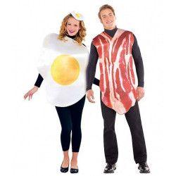 Déguisement bacon et oeuf couple Déguisements 844276