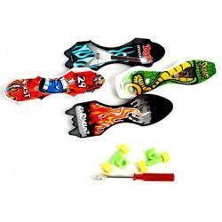 Jouets et kermesse, Mini finger skateboard 9 cm vendu par 48, 12178-LOT, 0,29€