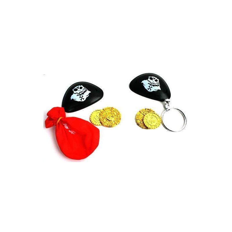 Kit pirate avec accessoires vendu par 48 Jouets et articles kermesse 12192-LOT
