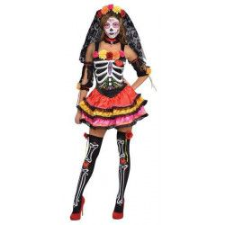 Déguisement Señorita Dia de los Muertos femme taille XL Déguisements 844984-55
