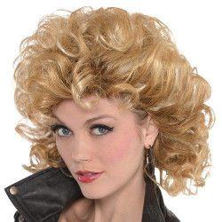 Perruque blonde Sexy Sandy femme Accessoires de fête 845529