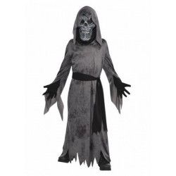 Déguisement fantôme noir effrayant garçon ado 12-14 ans Déguisements 845704