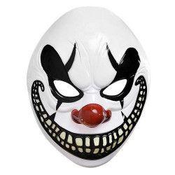 Masque clown maléfique halloween adulte Accessoires de fête 845804-55