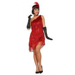 Déguisement charleston rouge femme taille XL Déguisements 84592