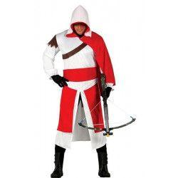 Déguisements, Déguisement chevalier assassin médiéval homme taille M, 84871, 26,90€