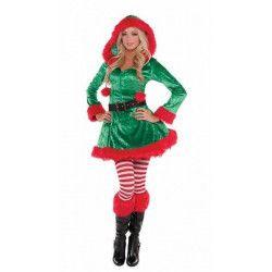 Déguisements, Déguisement Elf femme mutine taille L, 848929-55, 49,90€