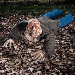 Déco festive, Zombie rampant lumineux et sonore 120 cm, 8515, 39,90€