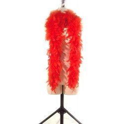 Boa plumes rouge 180 cm 45 grs Accessoires de fête 852500105