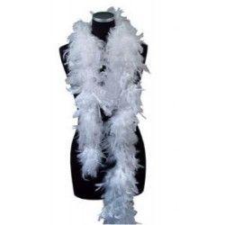 Boa plumes blanc 180 cm 45 grs Accessoires de fête 852500106