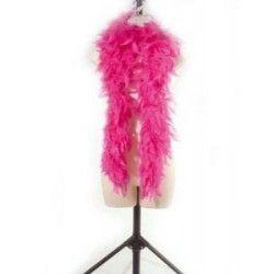 Boa plumes rose fuschia 180 cm 45 grs Accessoires de fête 852500110