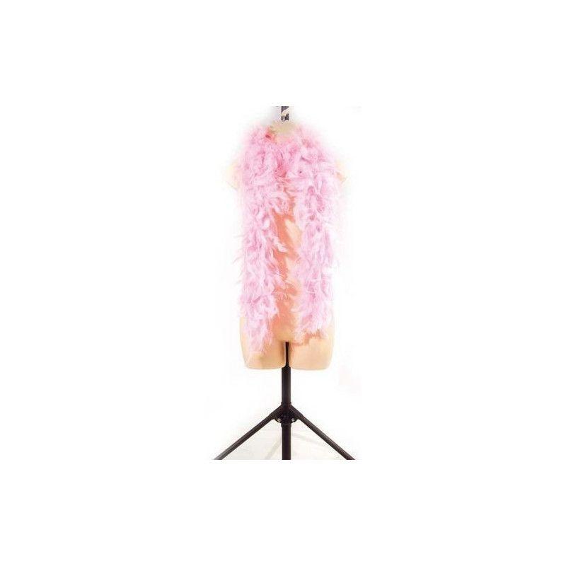 Boa plumes rose clair 180 cm 45 grs Accessoires de fête 852500111