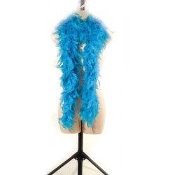 Boa plumes turquoises 180 cm 50 grs Accessoires de fête 852500115