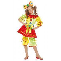 Déguisement fille clown 7-9 ans Déguisements 85272