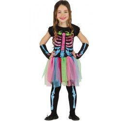 Déguisements, Déguisement squelette tutu fille 7-9 ans, 85443, 24,90€