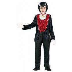 Déguisement comte vampire garçon 5-6 ans Déguisements 85455