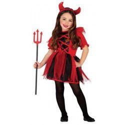 Déguisement diablesse fille 5-6 ans Déguisements 85502