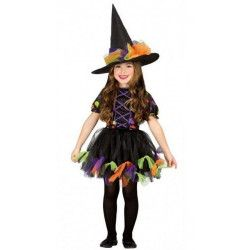 Déguisement sorcière avec rubans fille 5-6 ans Déguisements 85518