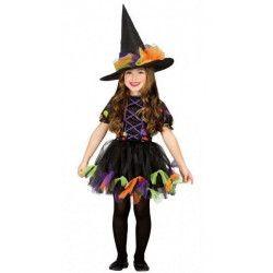 Déguisement sorcière avec rubans fille 10-12 ans Déguisements 85520