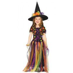 Déguisement petite sorcière enfant 3-4 ans Déguisements 85521