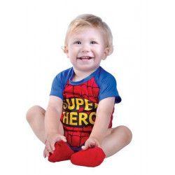 Déguisement super héros bébé 6-12 mois Déguisements 85546