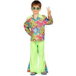 Déguisement hippie garçon 7-9 ans Déguisements 85604