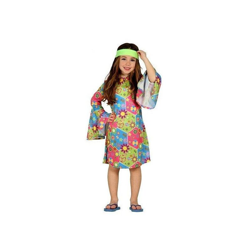 Déguisement hippie fille 7-9 ans Déguisements 85608