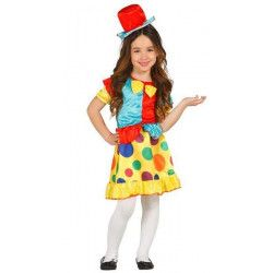 Déguisements, Déguisement clown fille 5-6 ans, 85611, 21,50€
