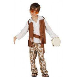 Déguisement hippie garçon 7-9 ans Déguisements 85624