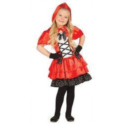Déguisements, Déguisement Petit Chaperon rouge fille 7-9 ans, 85634, 24,50€