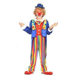 Déguisements, Déguisement clown garçon 3-4 ans, 85718, 24,90€