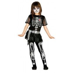 Déguisement squelette paillettes fille 5-6 ans Déguisements 85809