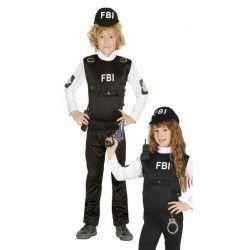 Déguisement agent FBI garçon ou fille 7-9 ans Déguisements 85962